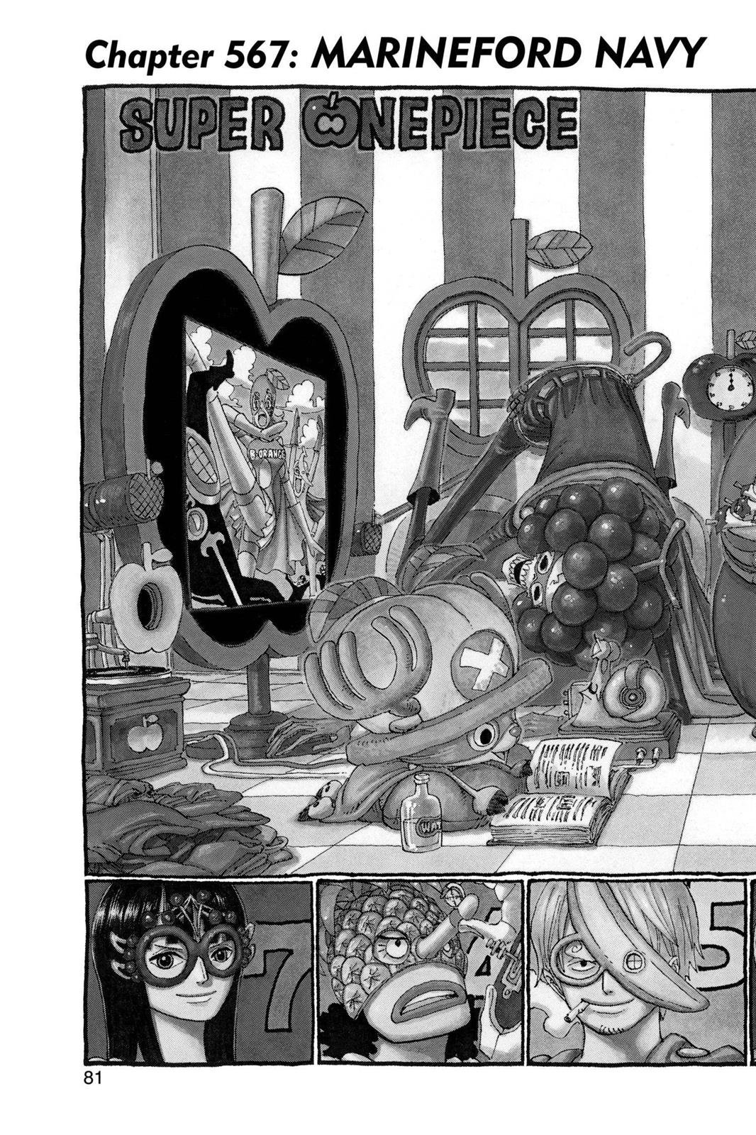 One Piece, Chapter 567 image 002