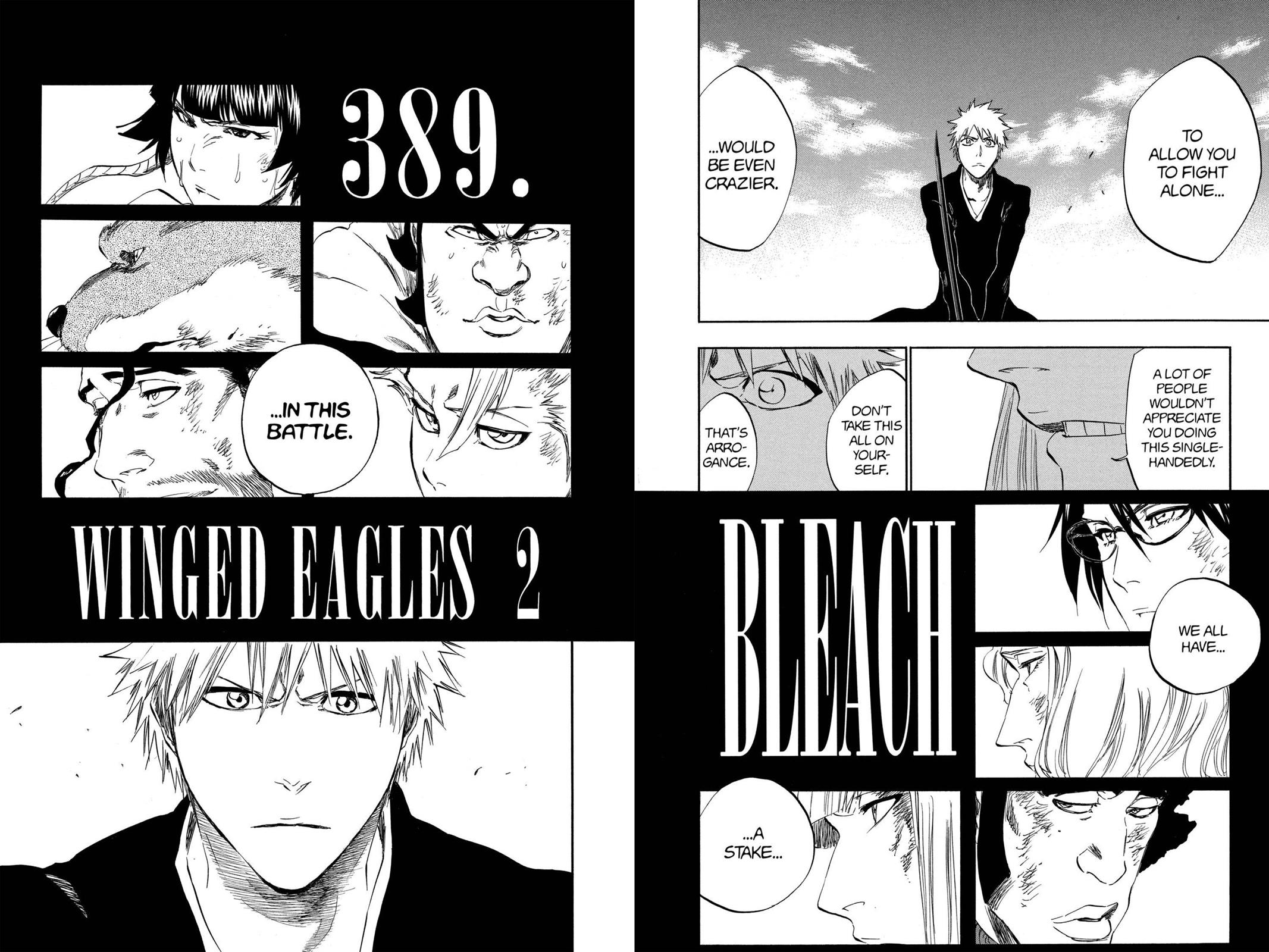 Bleach, Chapter 389 image 002