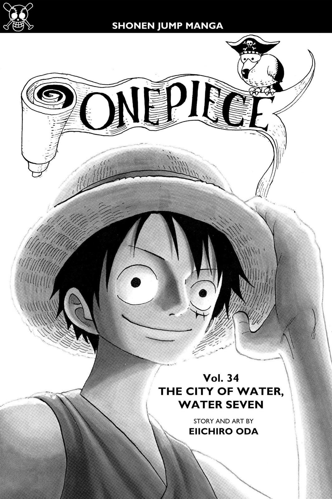 One Piece, Chapter 317 image 004