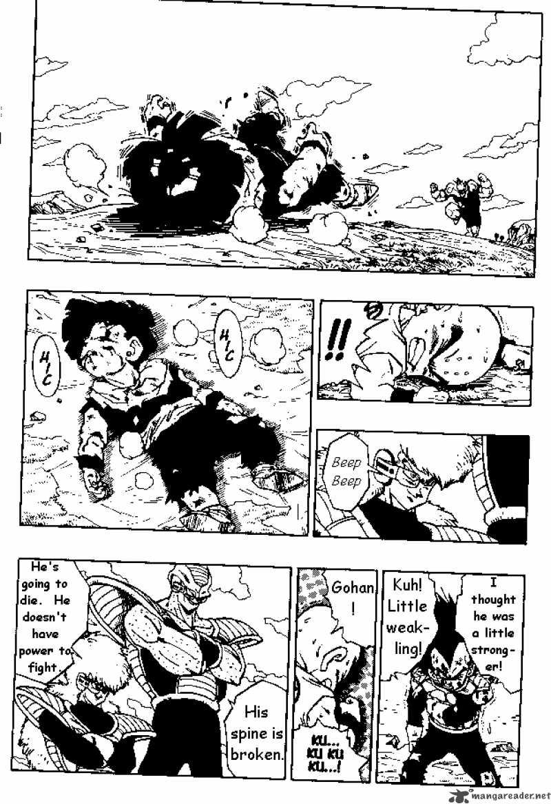 Dragon Ball, Chapter 278 image 013