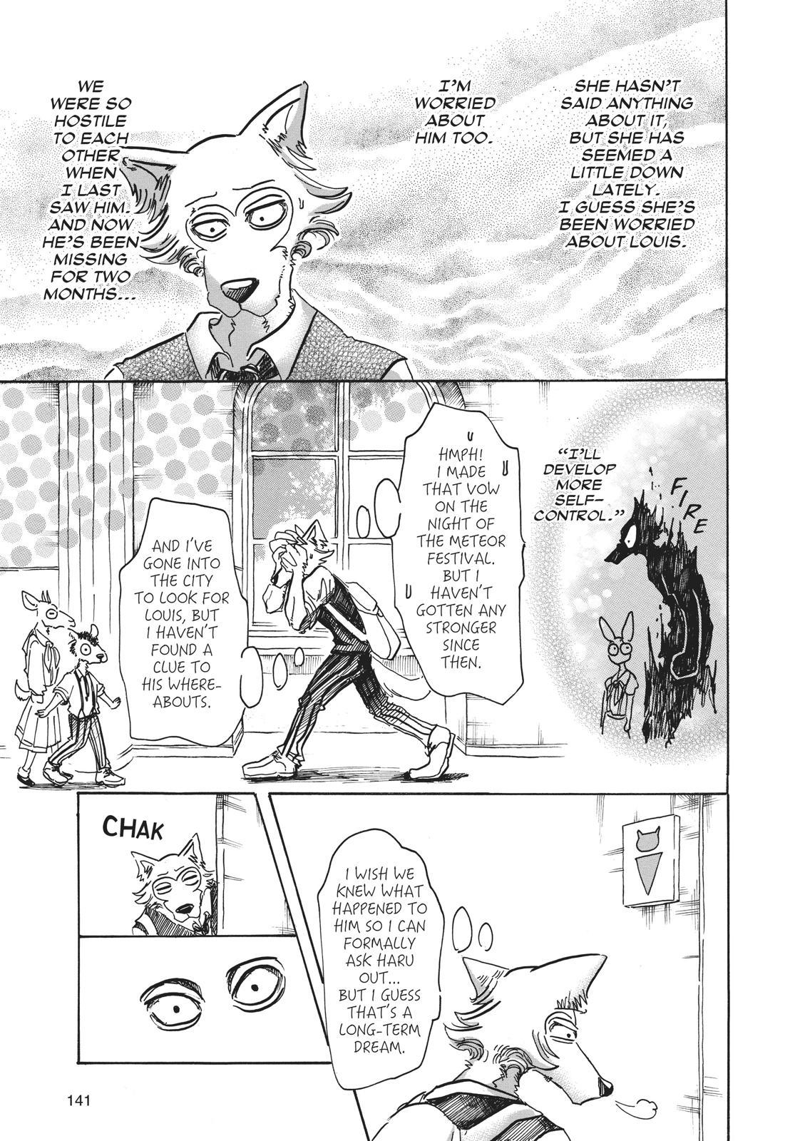 Beastars Manga, Chapter 50 image 007