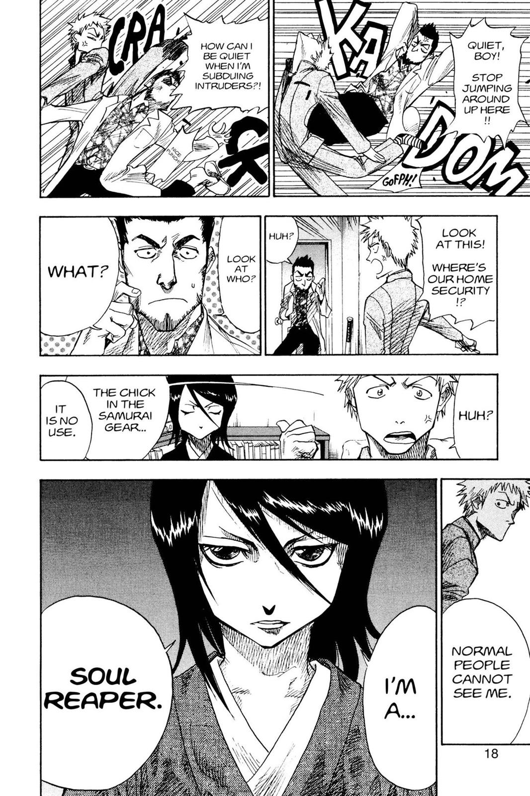 Bleach, Chapter 1 image 018