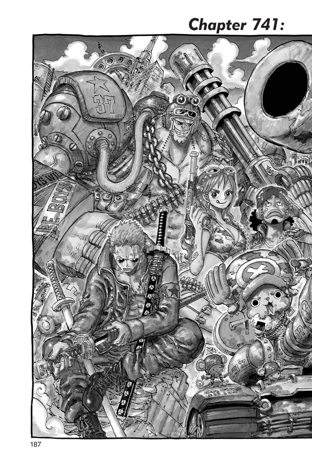 One Piece, Chapter 741 image 002