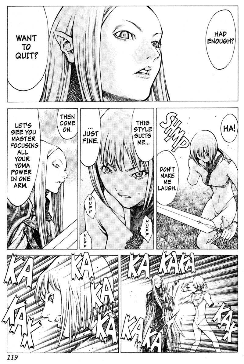 Claymore, Chapter 37 image 030