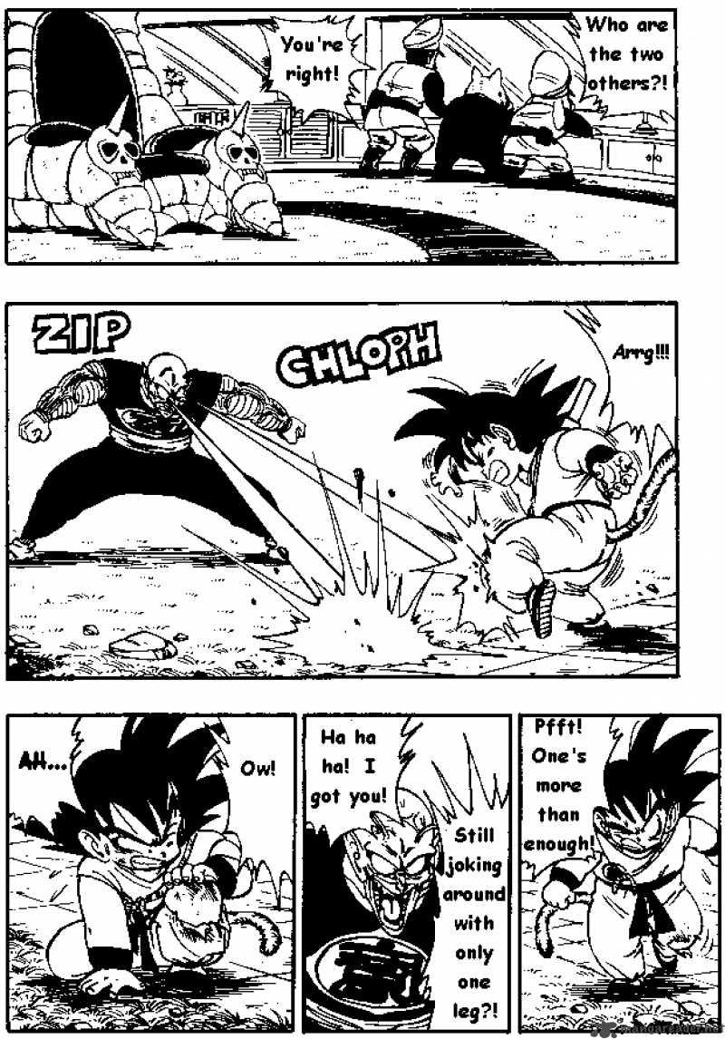 Dragon Ball, Chapter 158 image 004