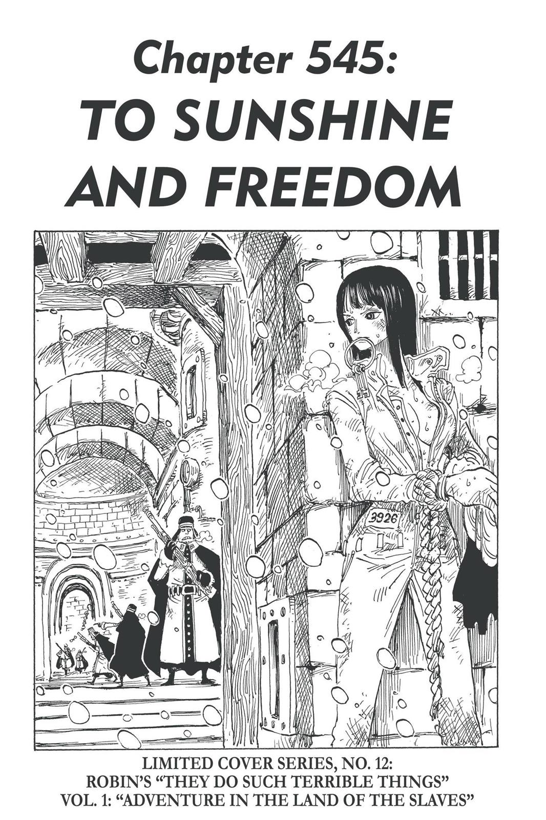 One Piece, Chapter 545 image 001
