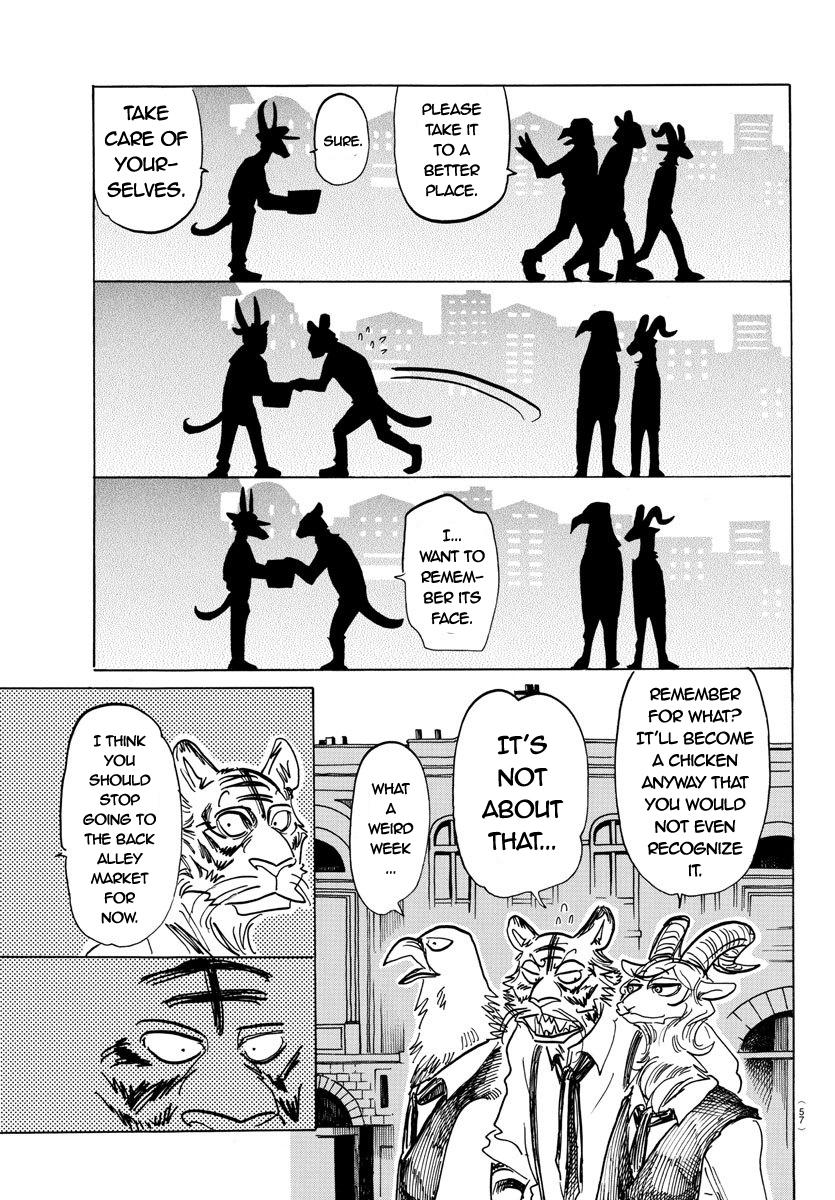 Beastars Manga, Chapter 155 image 019
