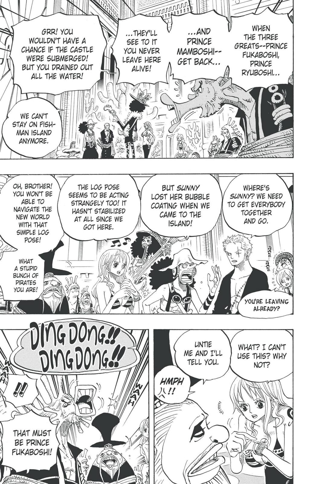 One Piece, Chapter 614 image 005