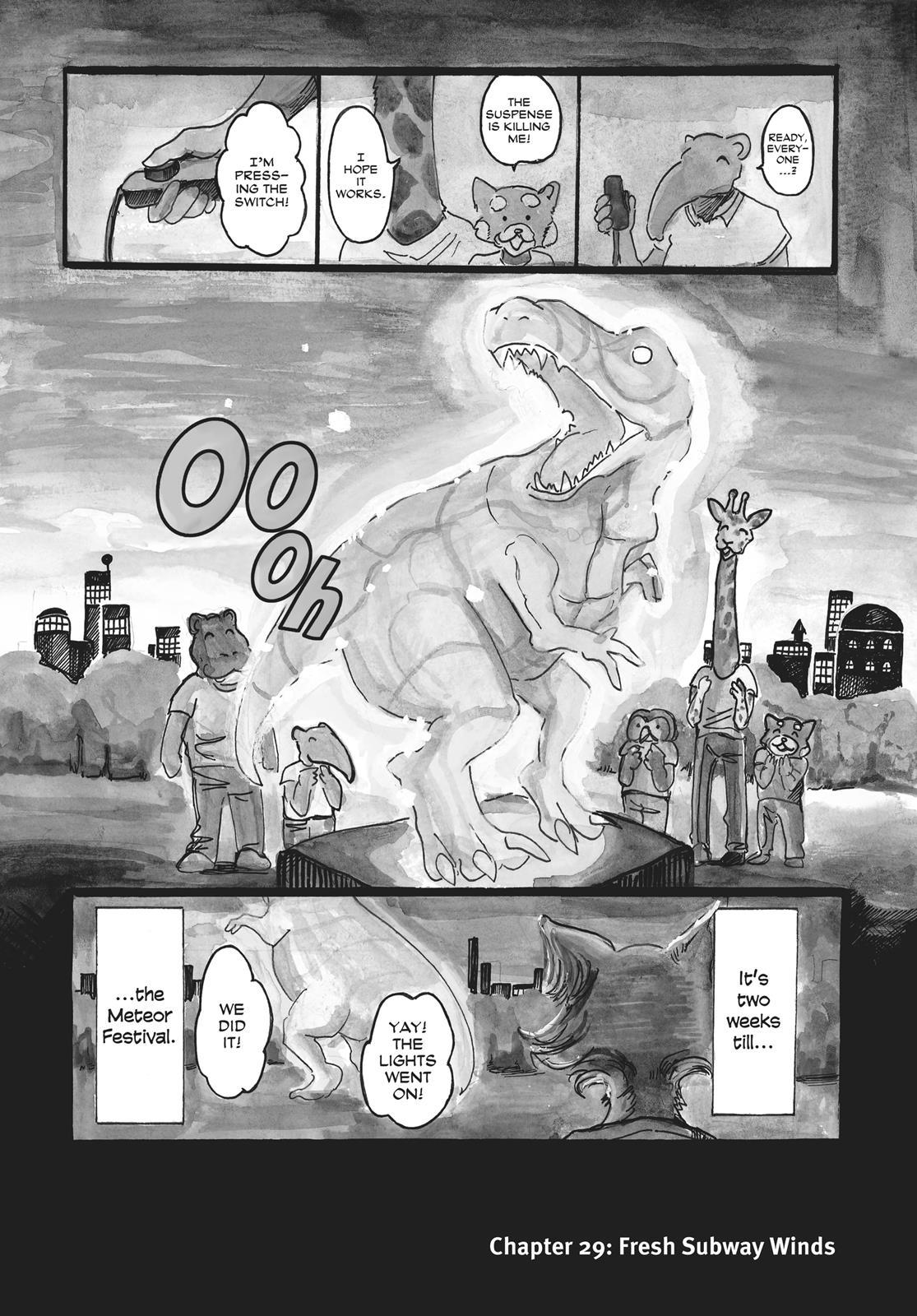 Beastars Manga, Chapter 29 image 001