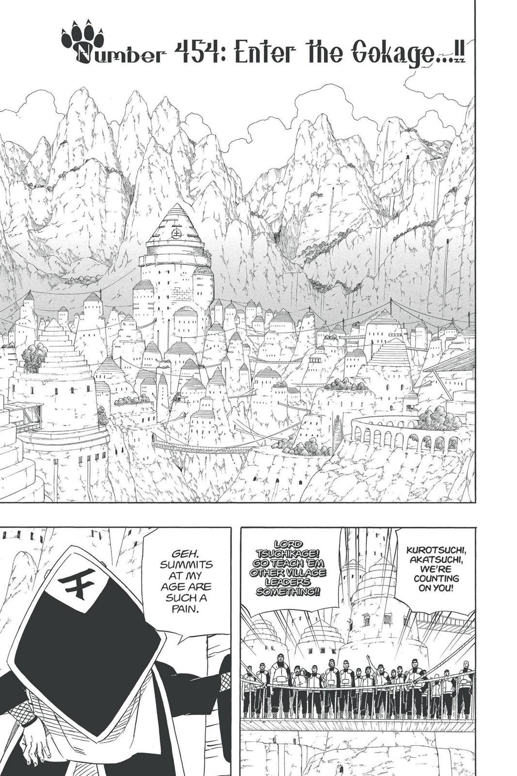 Naruto, Chapter 454 image 008