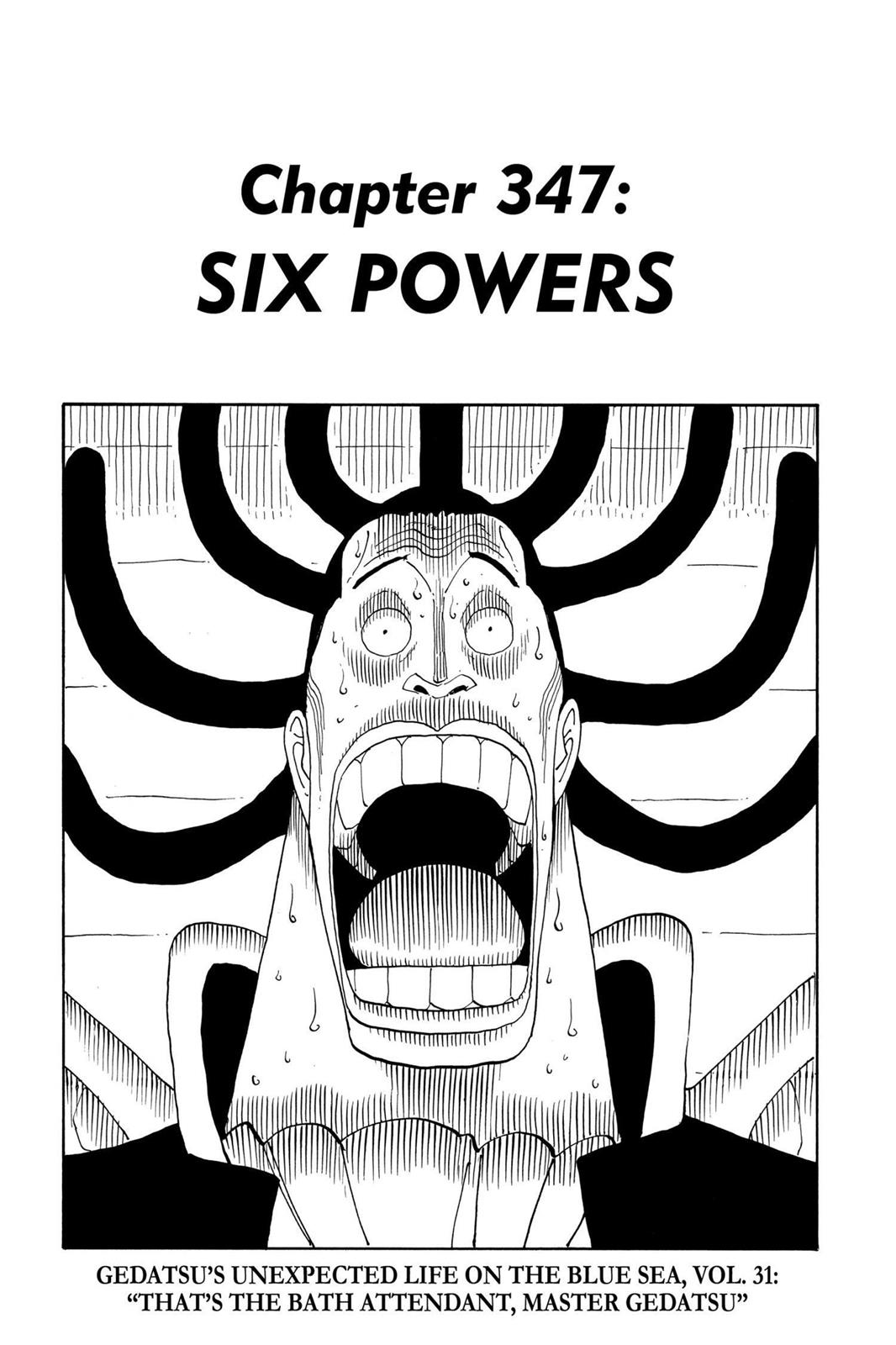 One Piece, Chapter 347 image 008