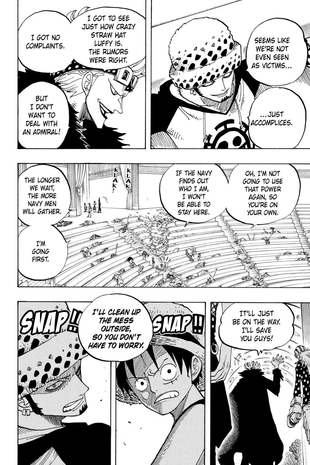 One Piece, Chapter 504 image 014