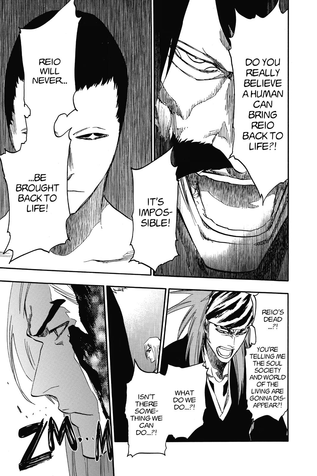 Bleach, Chapter 615 image 017