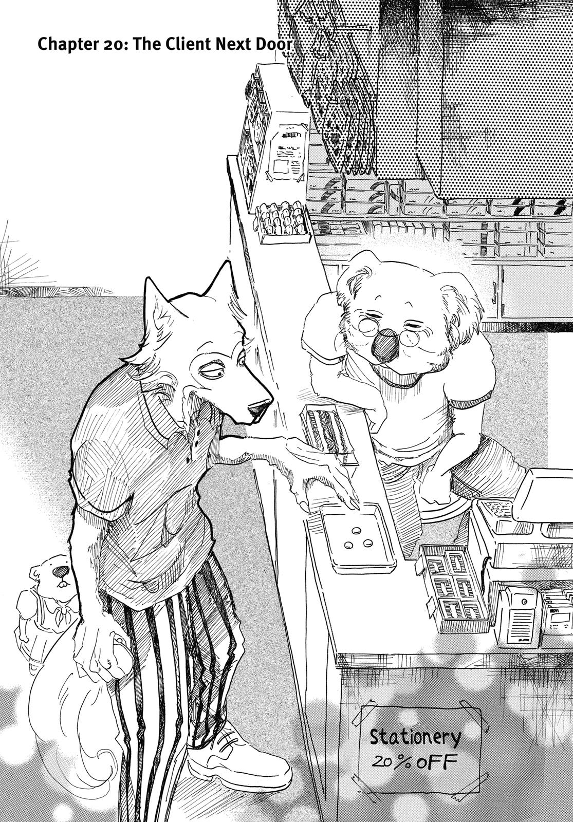 Beastars Manga, Chapter 20 image 001