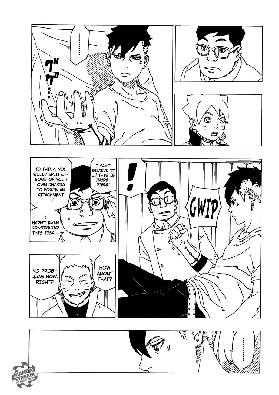 Boruto Manga, Chapter 34 image 012