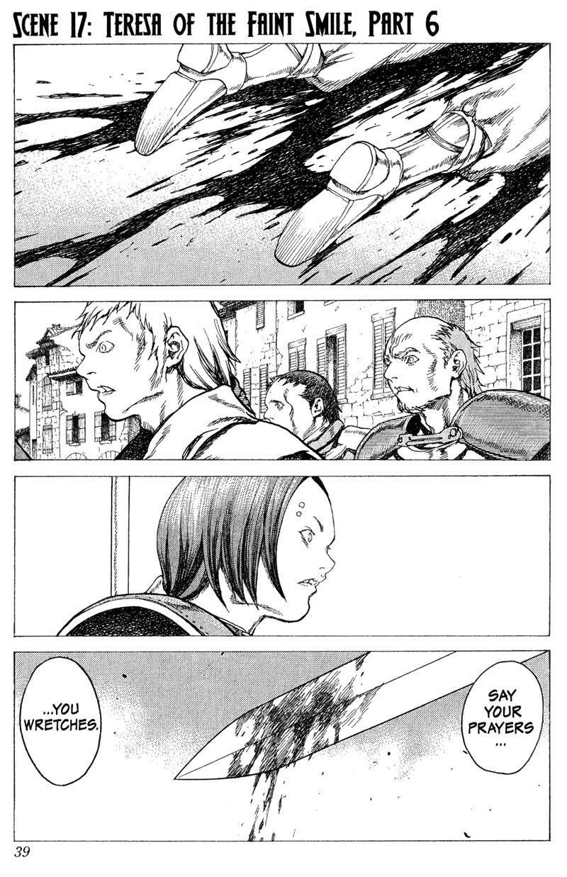 Claymore, Chapter 17 image 001