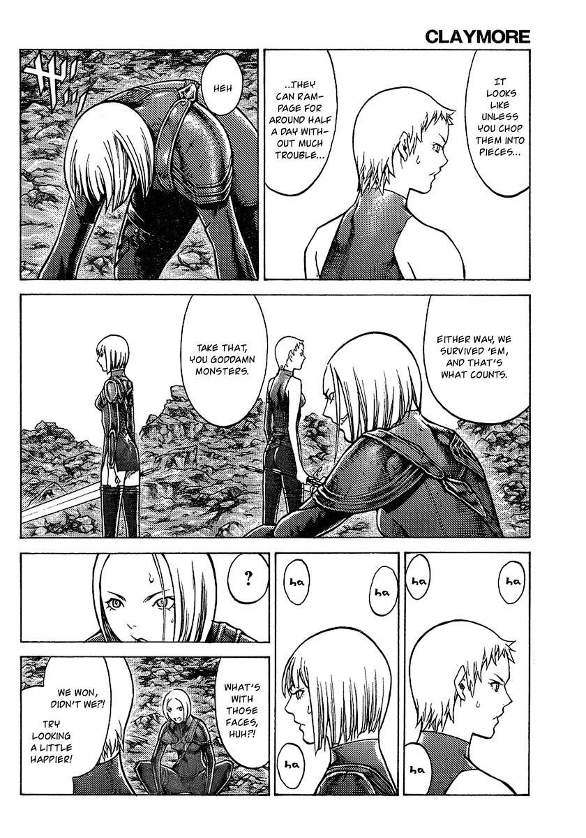 Claymore, Chapter 96 image 026