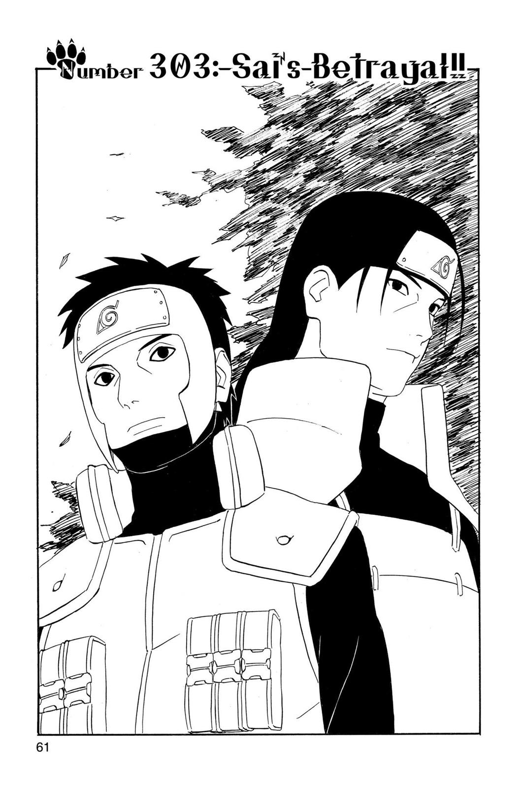 Naruto, Chapter 303 image 001