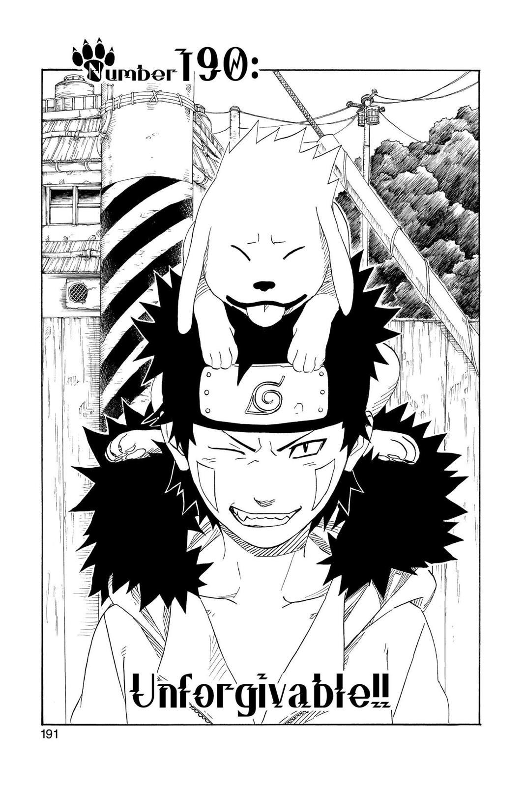 Naruto, Chapter 190 image 001