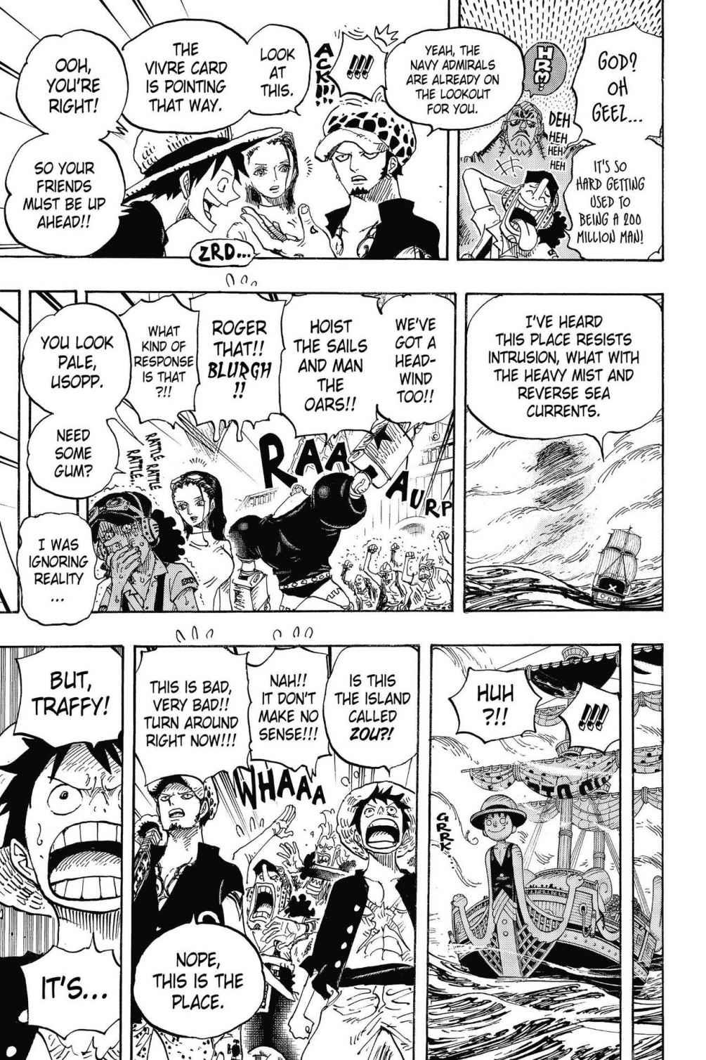 One Piece, Chapter 802 image 013