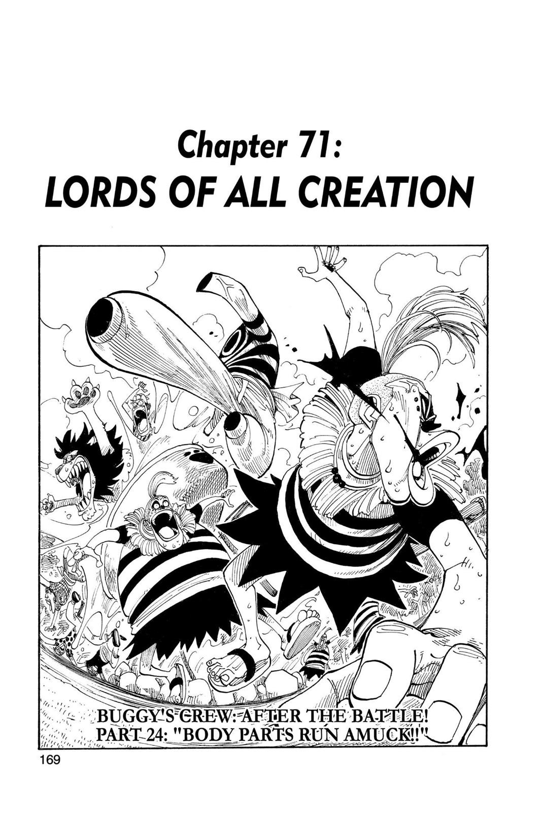 One Piece, Chapter 71 image 001