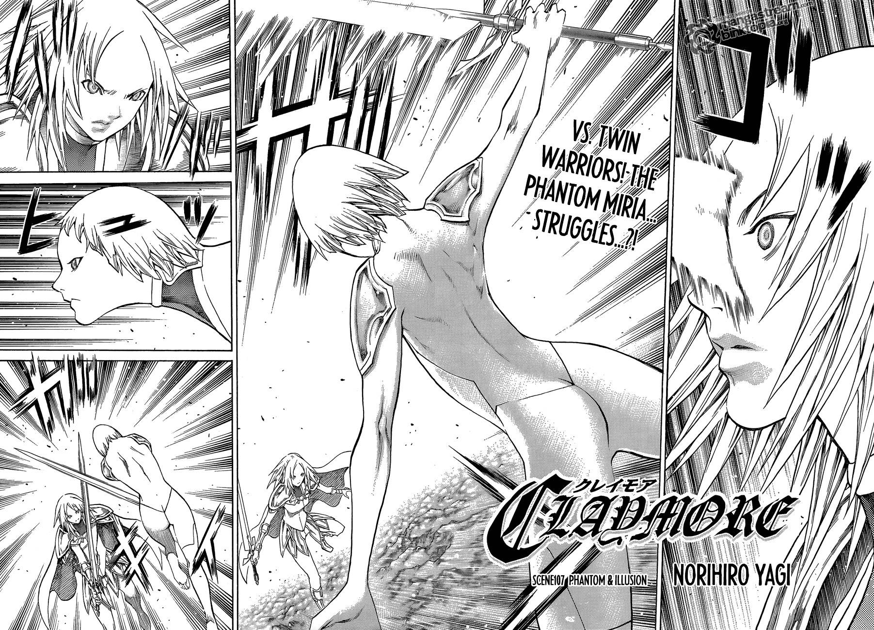 Claymore, Chapter 107 image 004