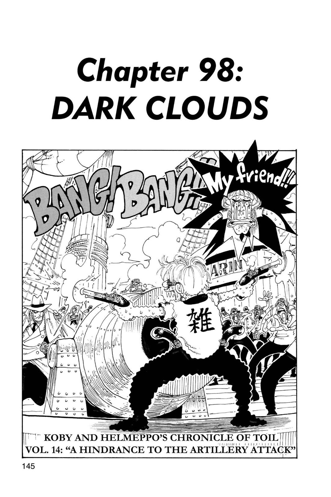 One Piece, Chapter 98 image 001