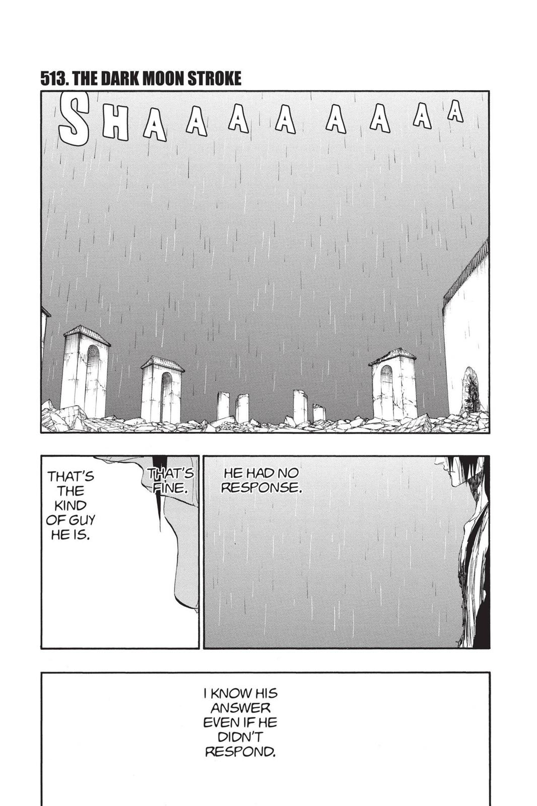 Bleach, Chapter 513 image 001