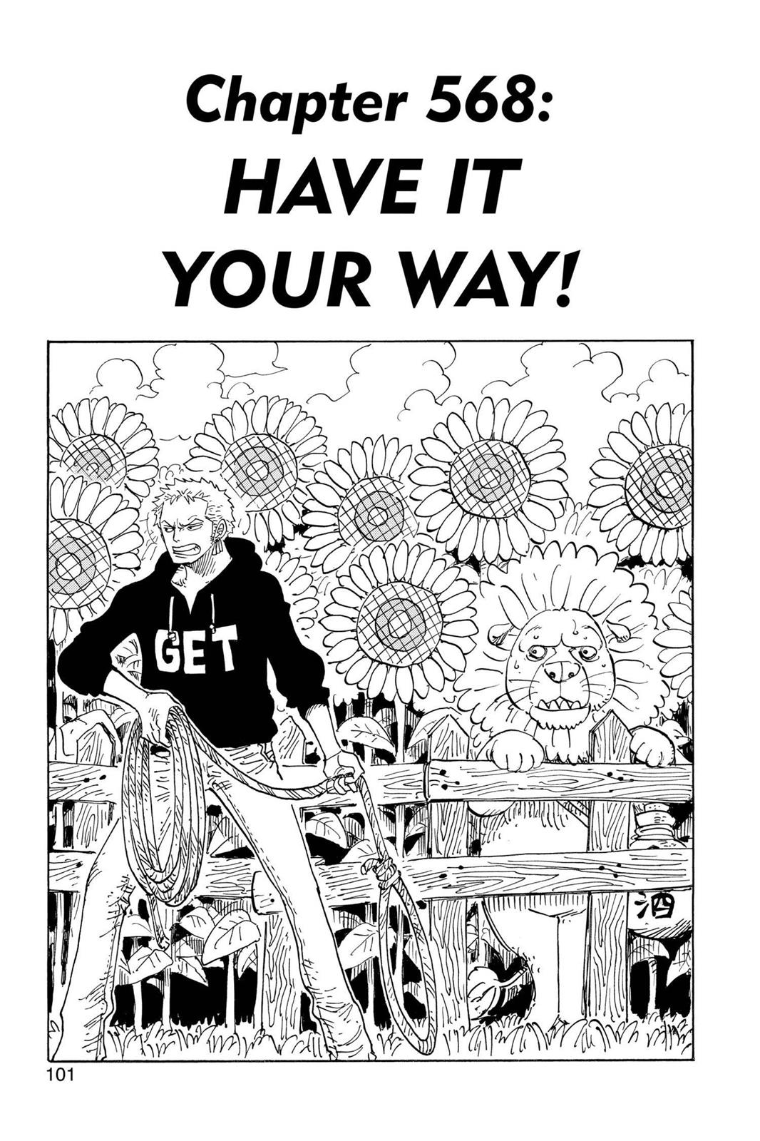 One Piece, Chapter 568 image 001