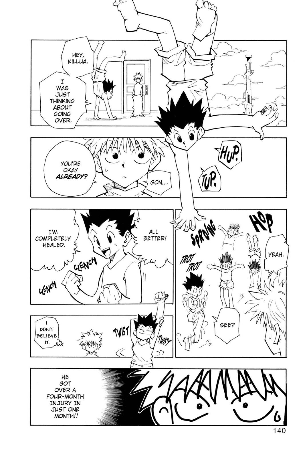 Hunter X Hunter, Chapter 52 image 002
