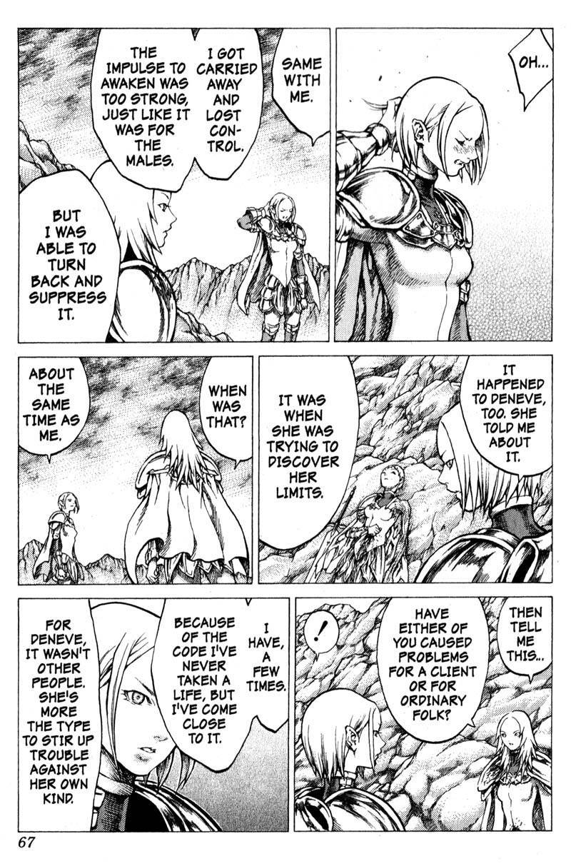 Claymore, Chapter 29 image 028