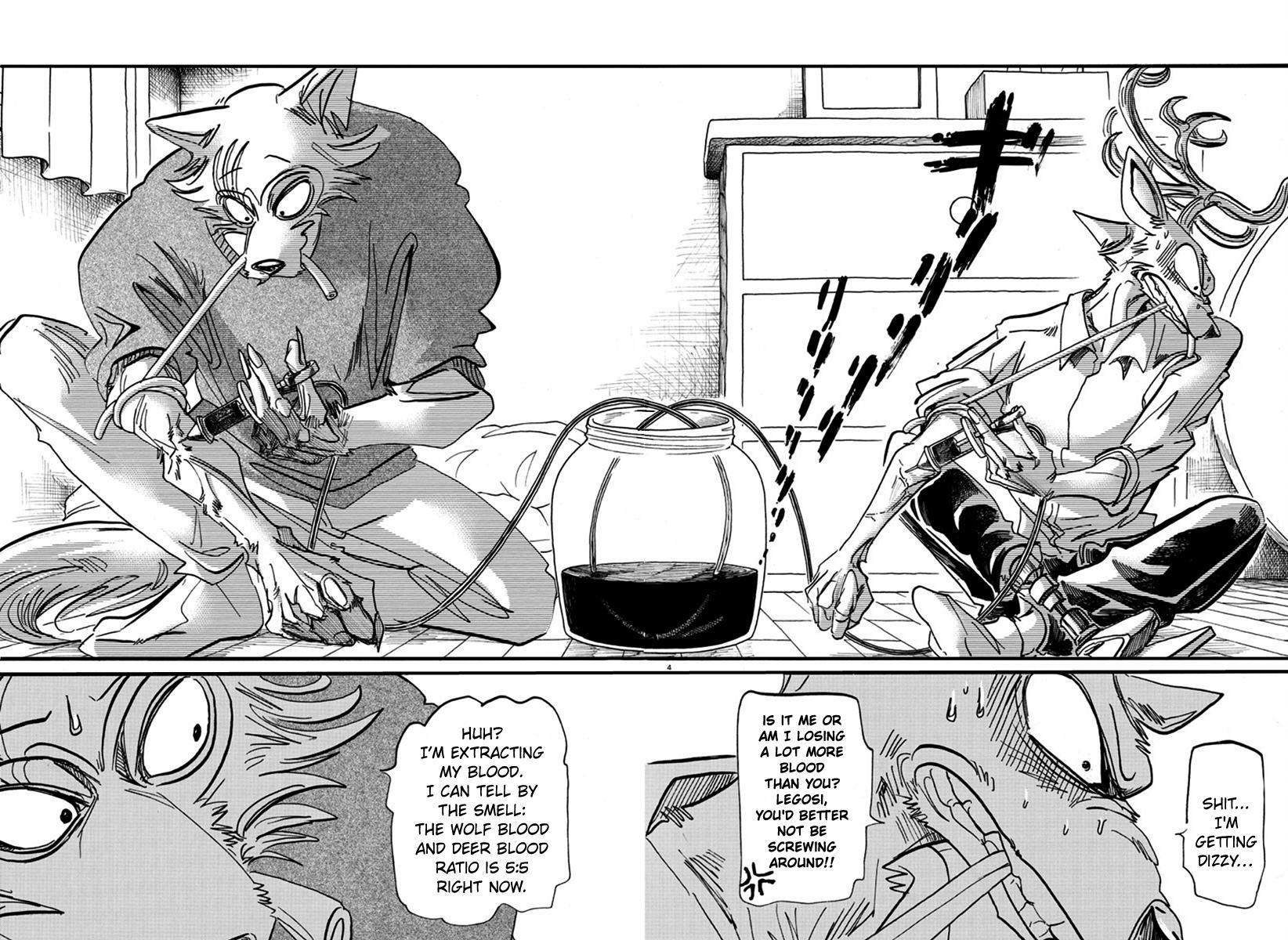 Beastars Manga, Chapter 175 image 004