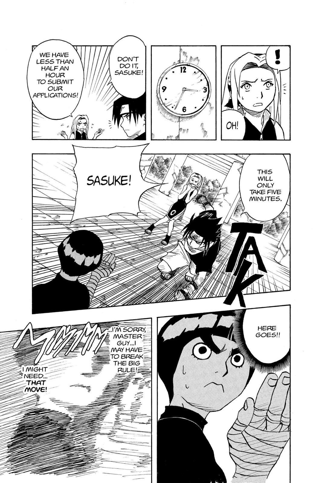 Naruto, Chapter 37 image 017