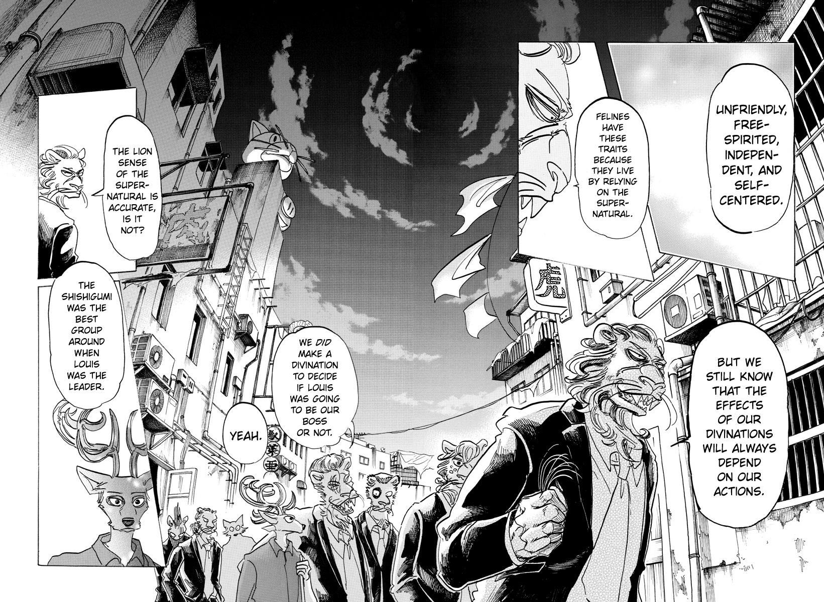 Beastars Manga, Chapter 144 image 015
