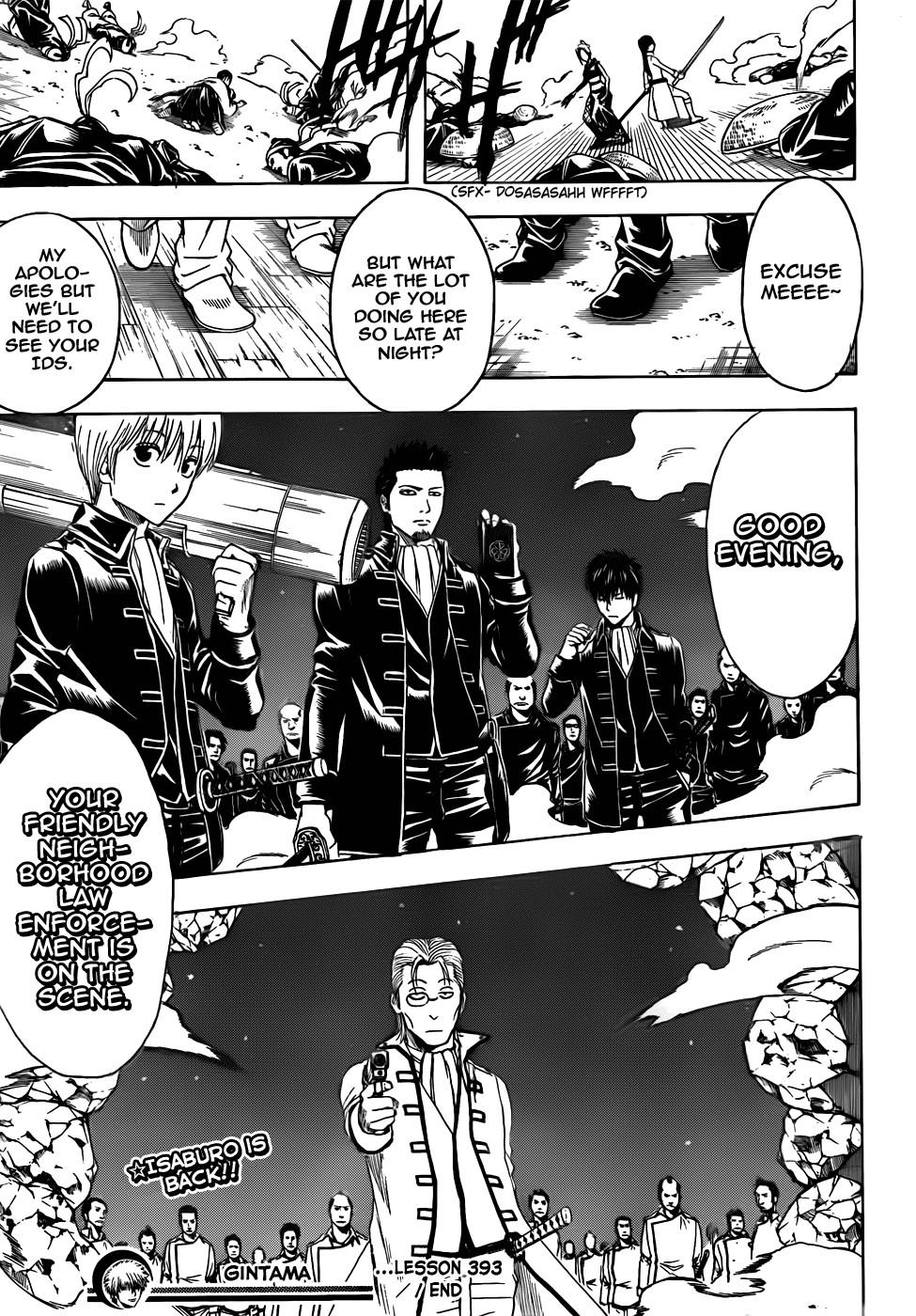 Gintama Chapter, 393 image 019