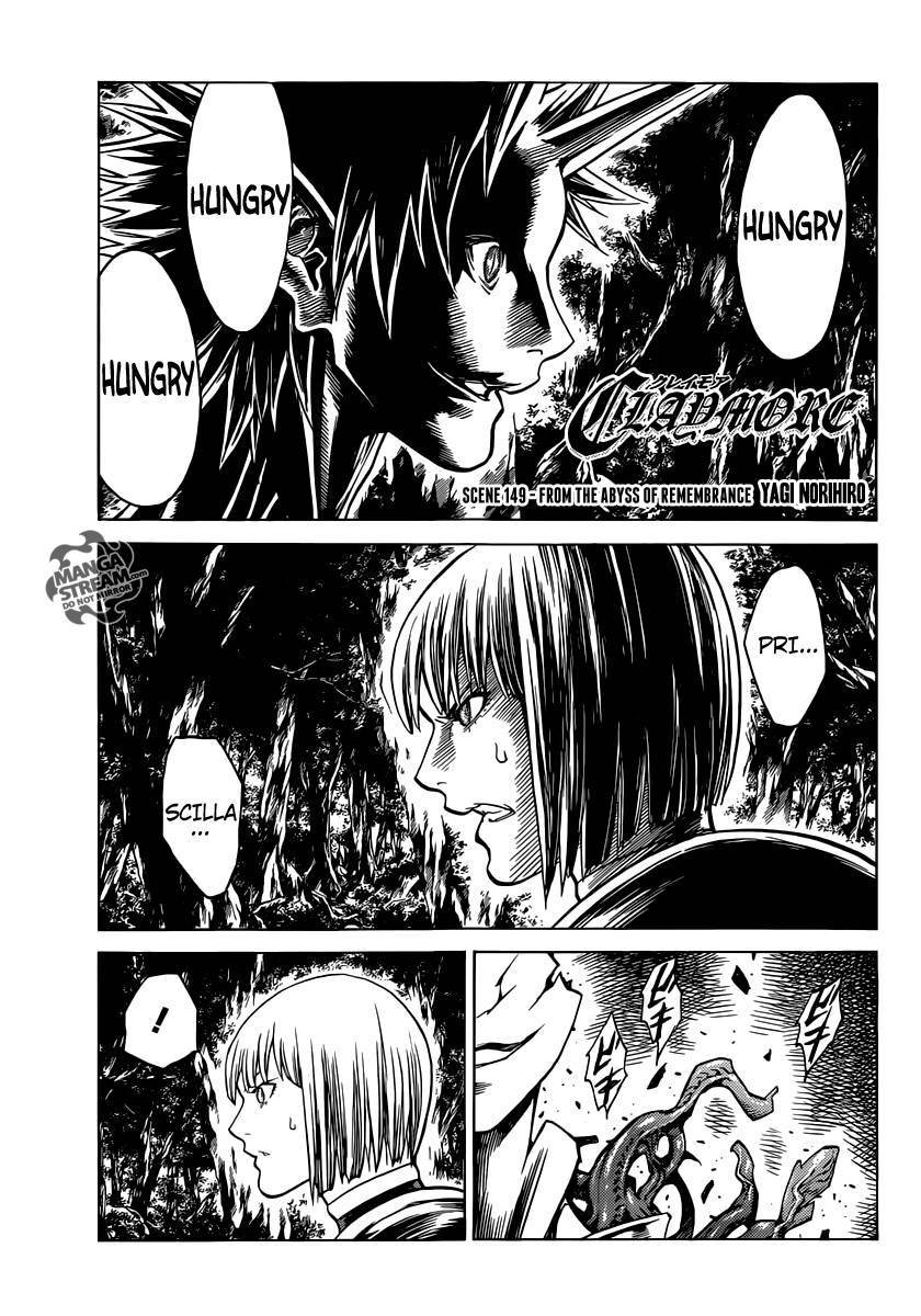 Claymore, Chapter 149 image 001
