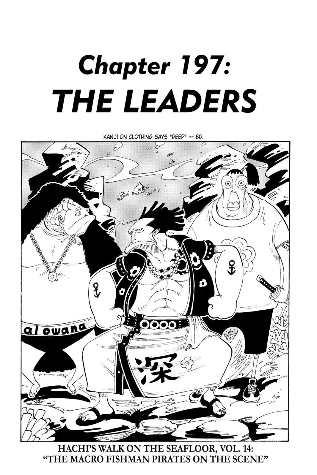 One Piece, Chapter 197 image 001