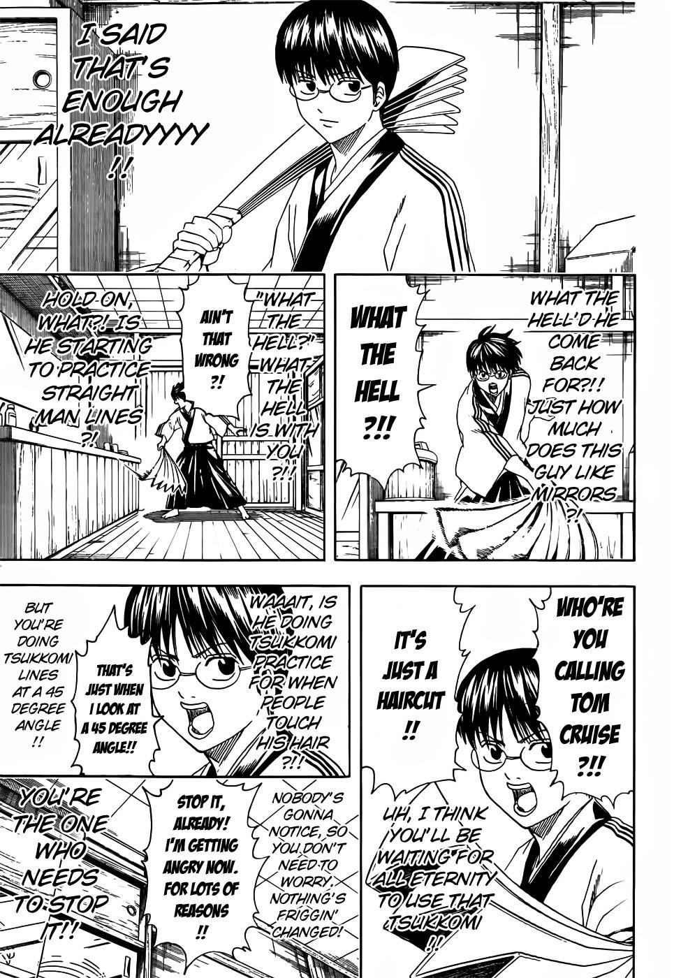 Gintama Chapter, 418 image 009