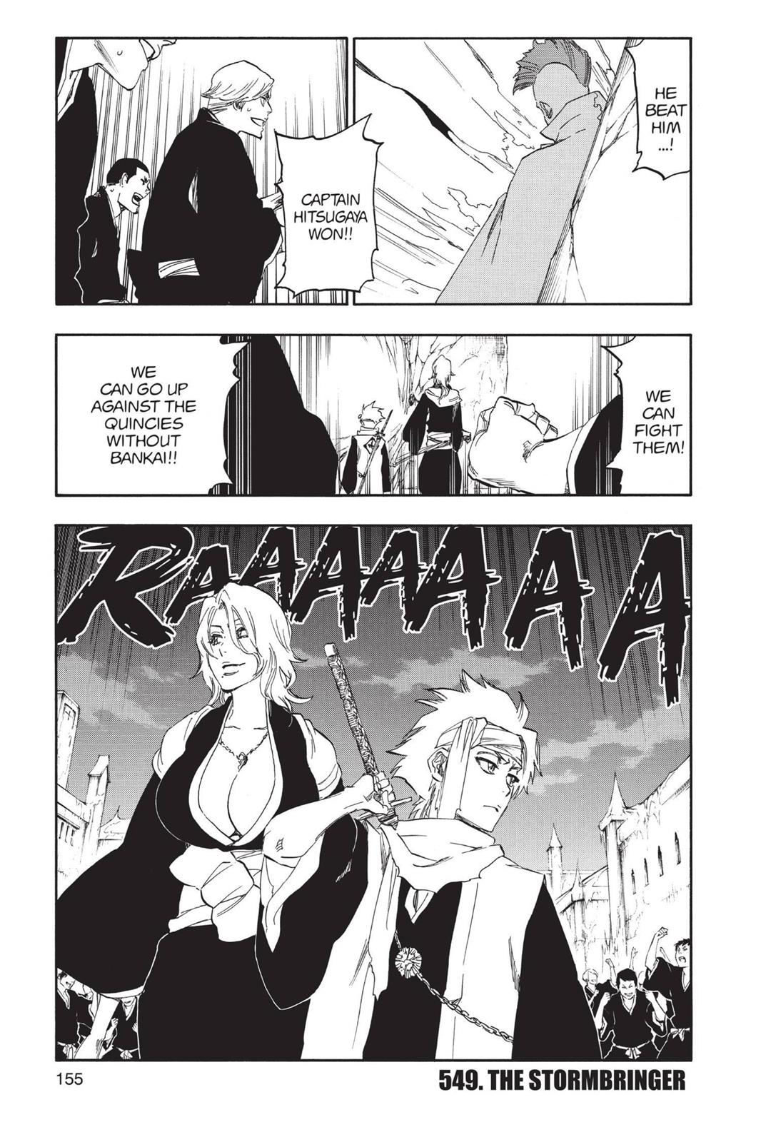 Bleach, Chapter 549 image 001