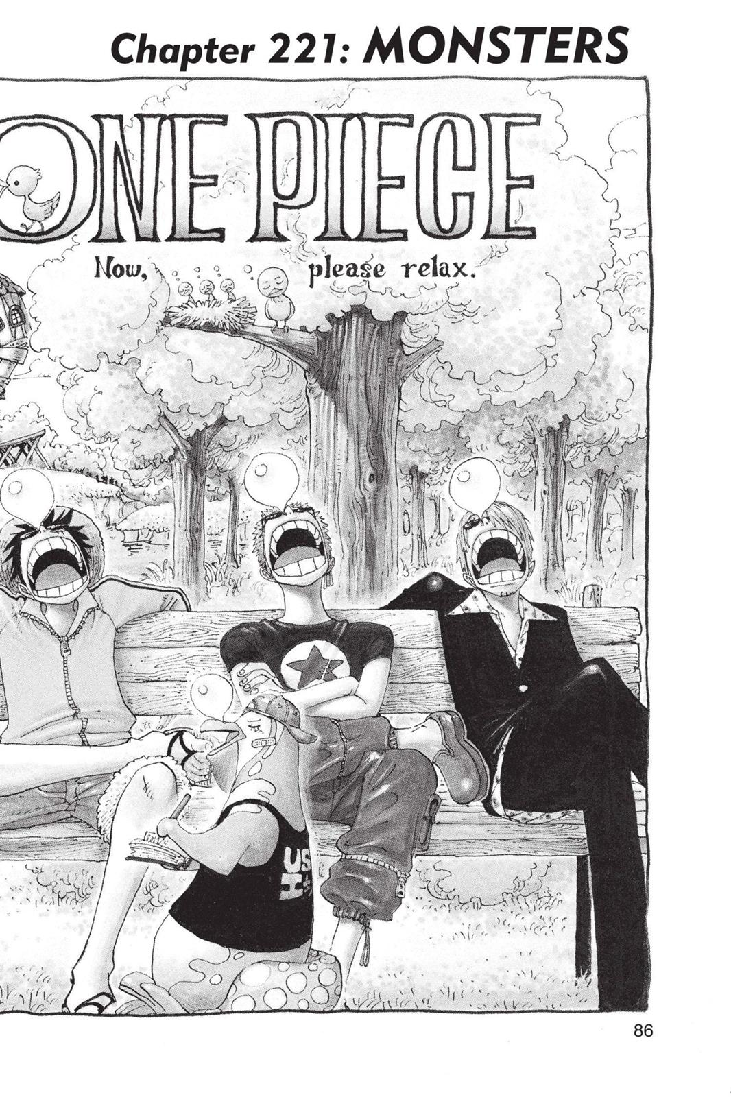 One Piece, Chapter 221 image 001
