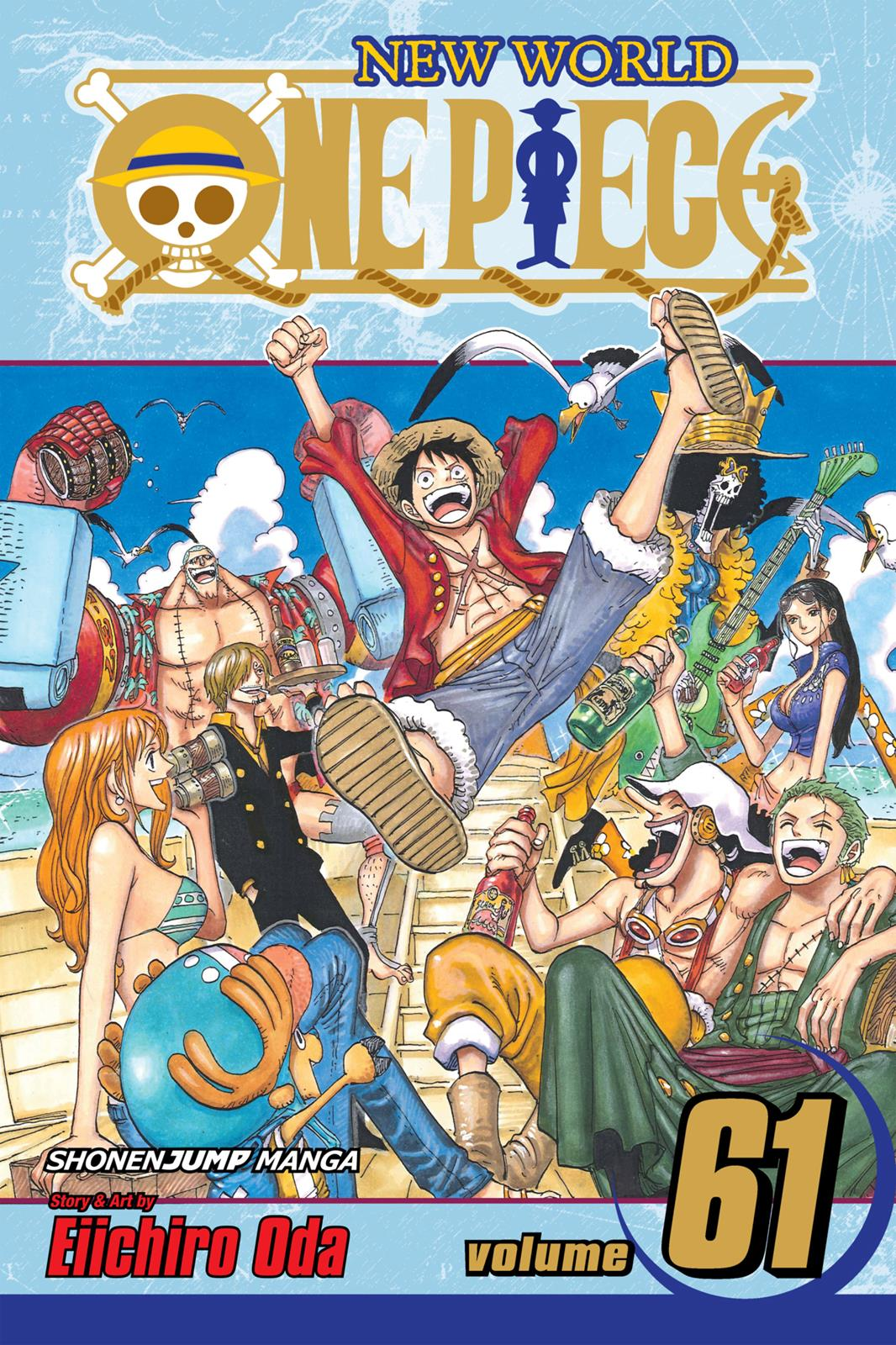 One Piece, Chapter 595 image 001