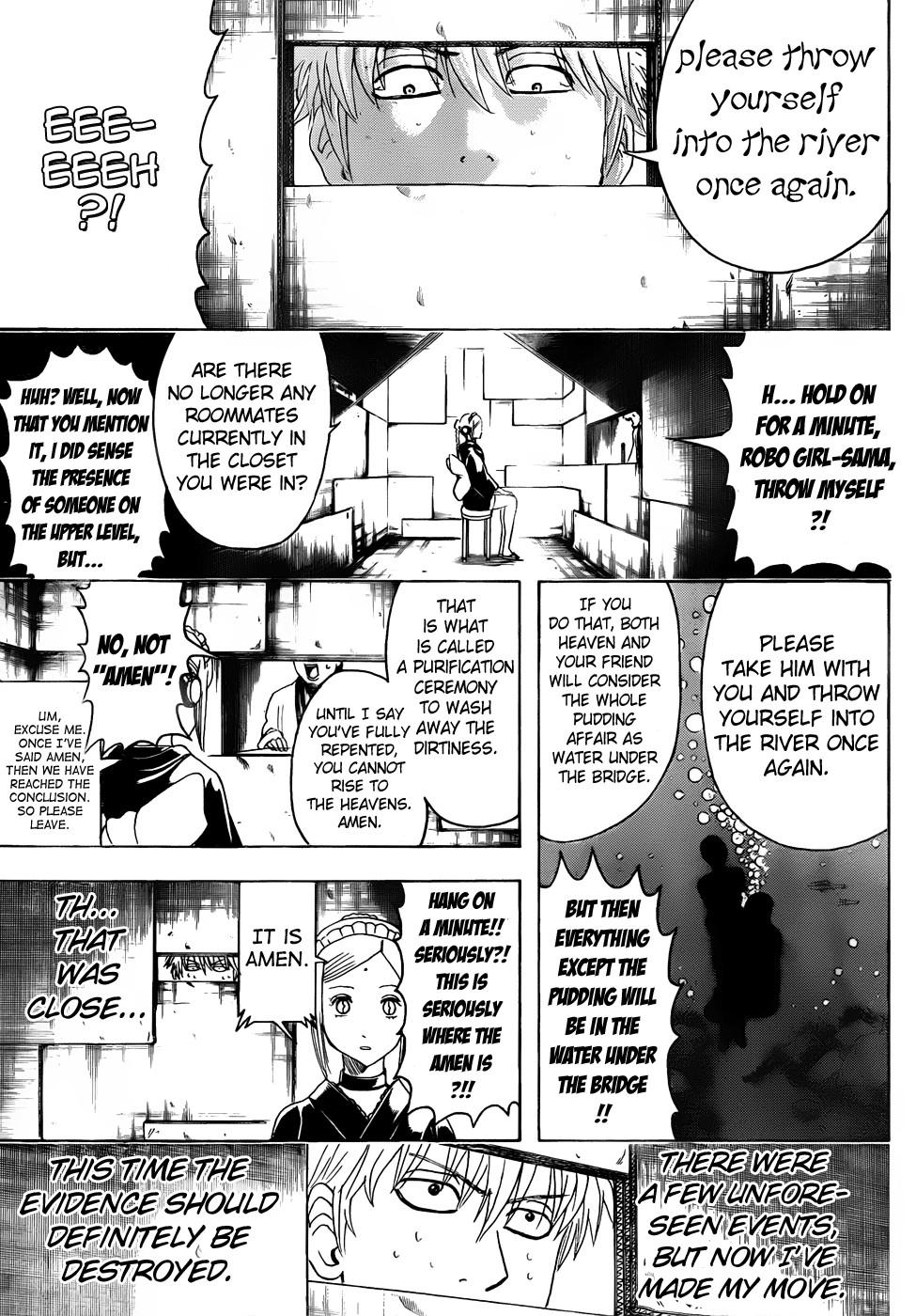 Gintama Chapter, 413 image 009