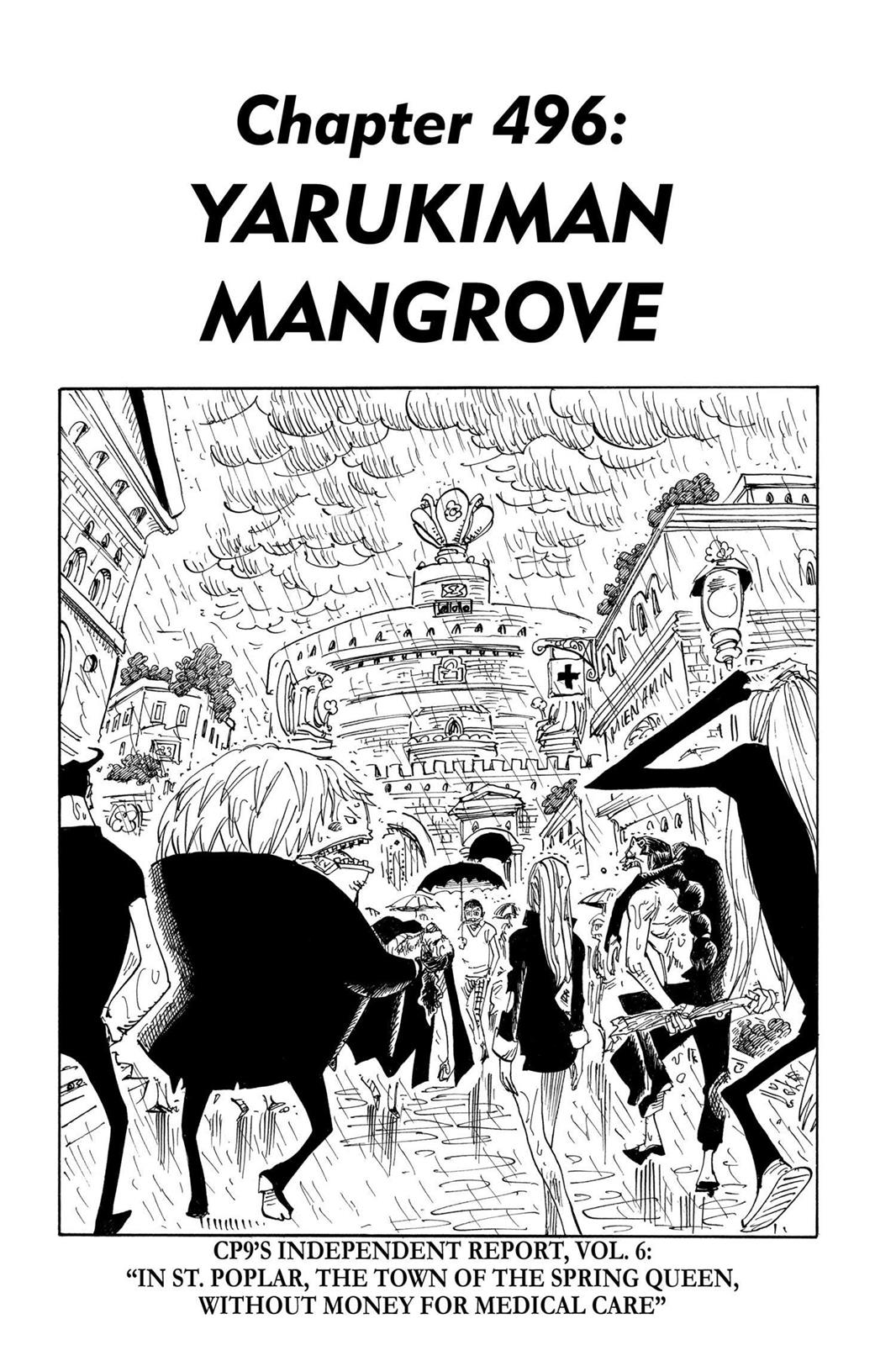 One Piece, Chapter 496 image 001