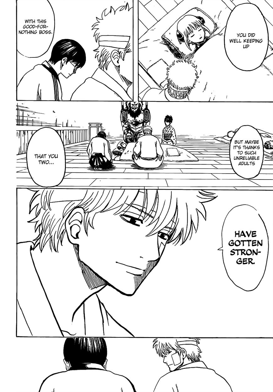 Gintama Chapter, 628 image 014