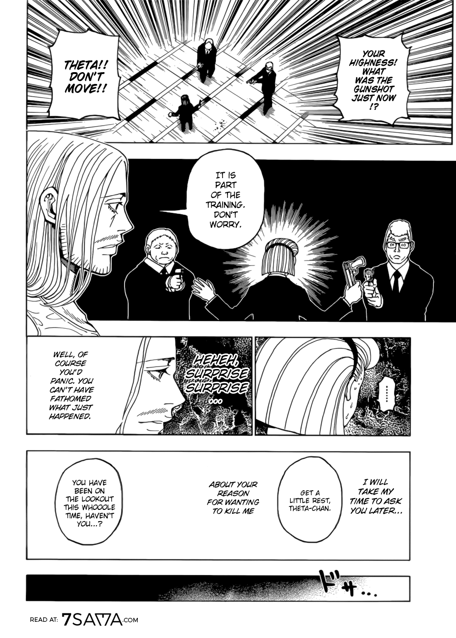 Hunter X Hunter, Chapter 387 image 017