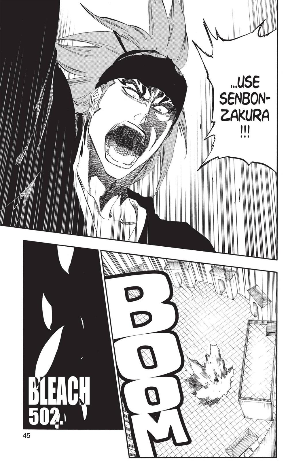 Bleach, Chapter 502 image 003