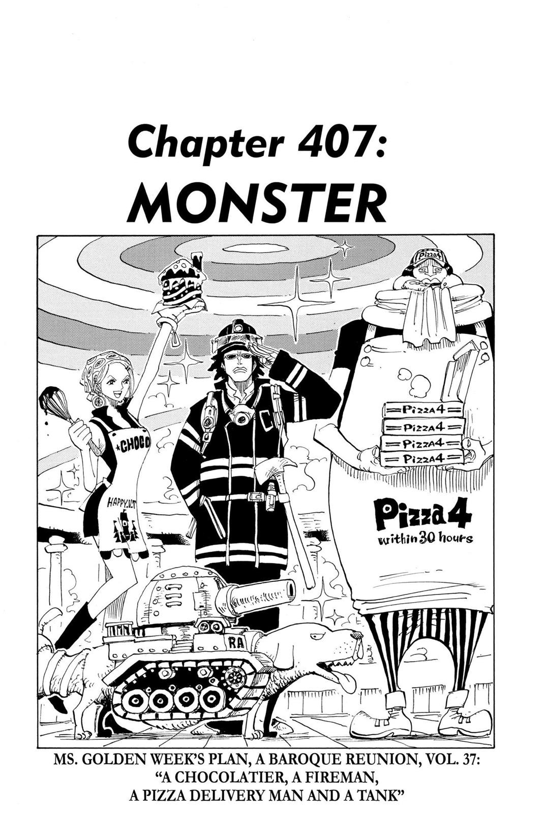 One Piece, Chapter 407 image 001
