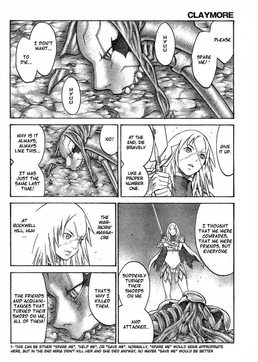 Claymore, Chapter 125 image 014