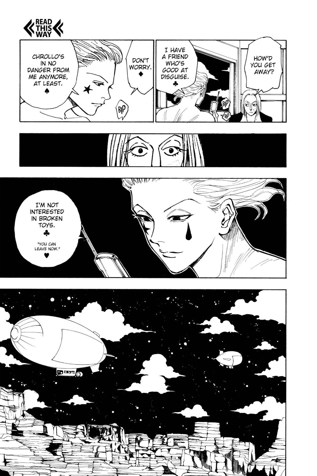 Hunter X Hunter, Chapter 119 image 005