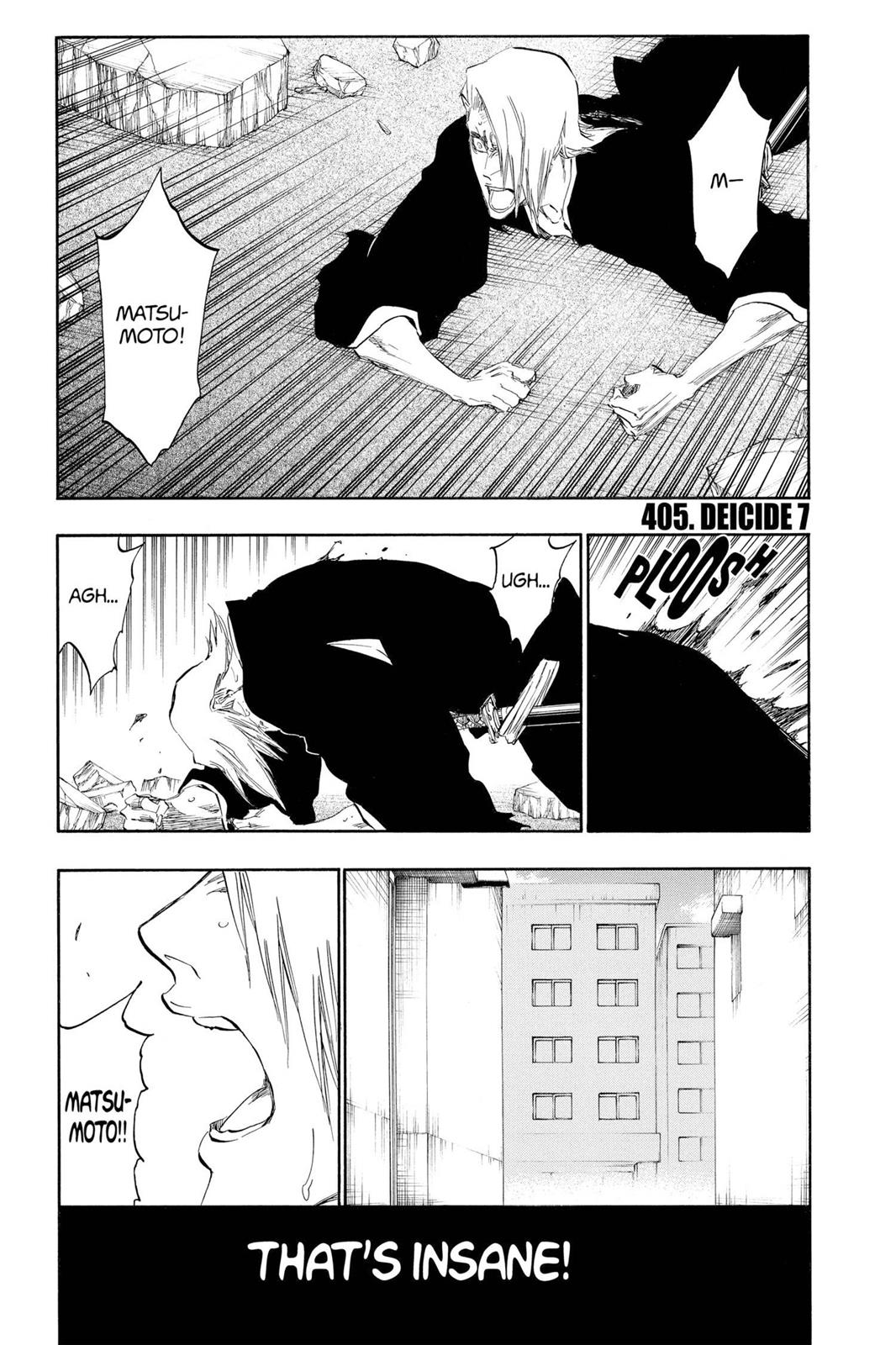 Bleach, Chapter 405 image 007